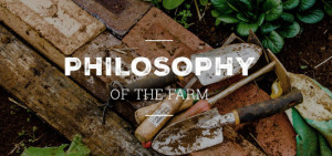 Farming philosophy